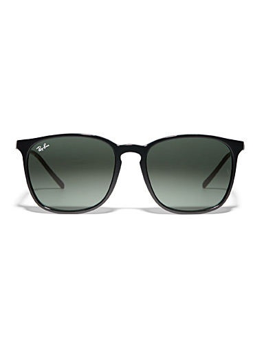 Thin rim rectangular sunglasses