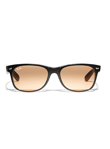 New Wayfarer rectangular sunglasses