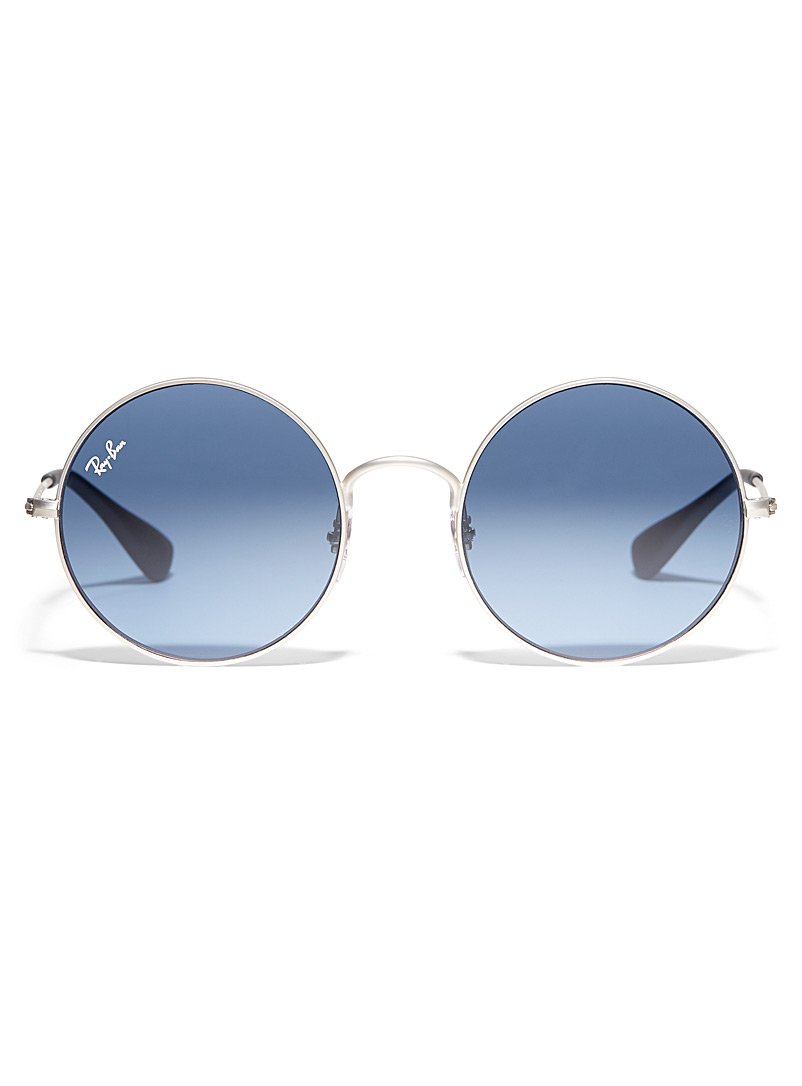 Ray-Ban Dark Blue Ja-Jo round sunglasses for men