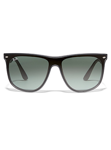 Ray-Ban Black Blaze mask sunglasses for men