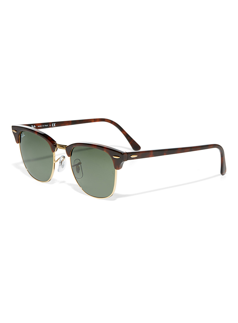 Clubmaster sunglasses - Designer - Light Brown