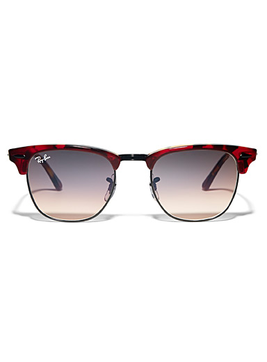 Ray-Ban Red Clubmaster Classic sunglasses for women