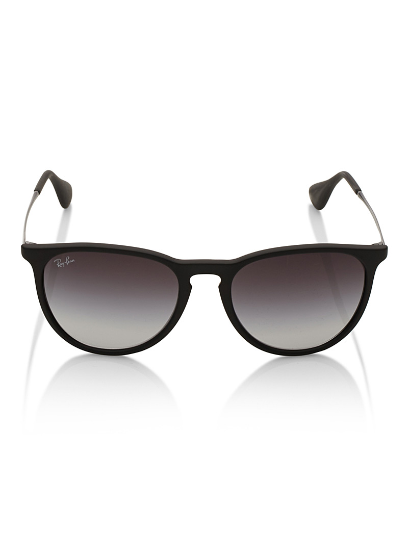 Erika retro sunglasses - Designer - Black