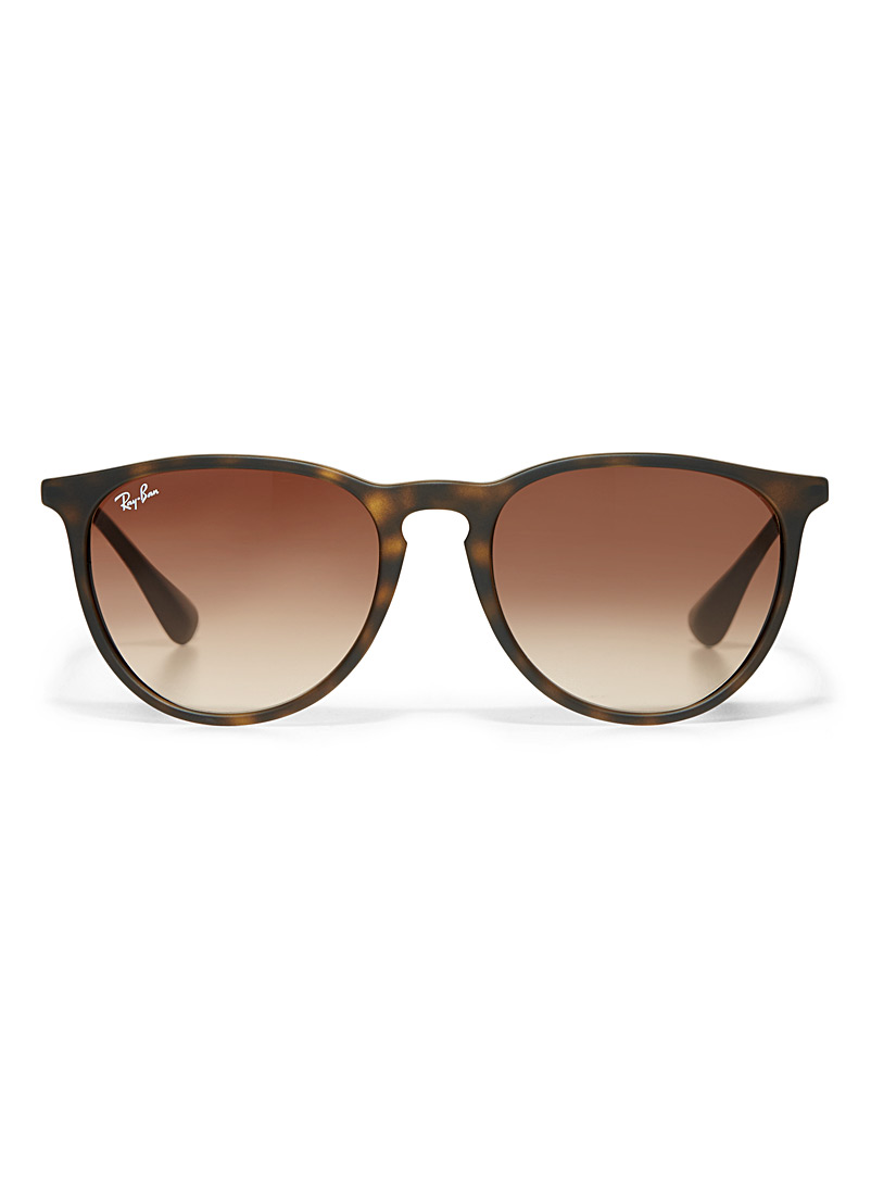 Erika retro sunglasses - Designer - Light Brown