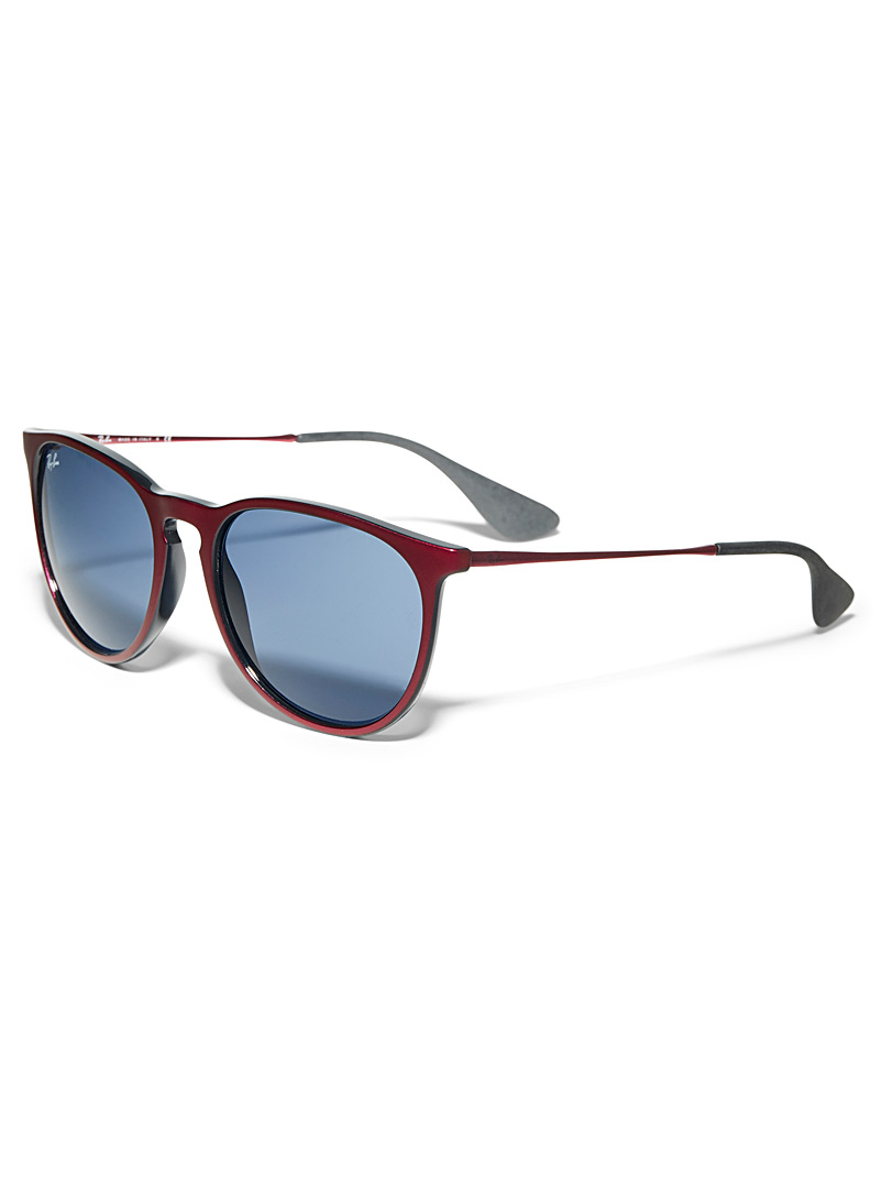 Ray-Ban Red Erika round sunglasses for women