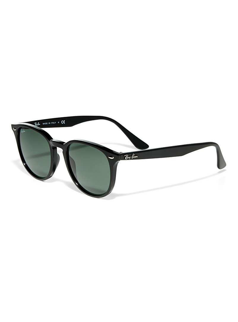 Urban round sunglasses - Designer - Black