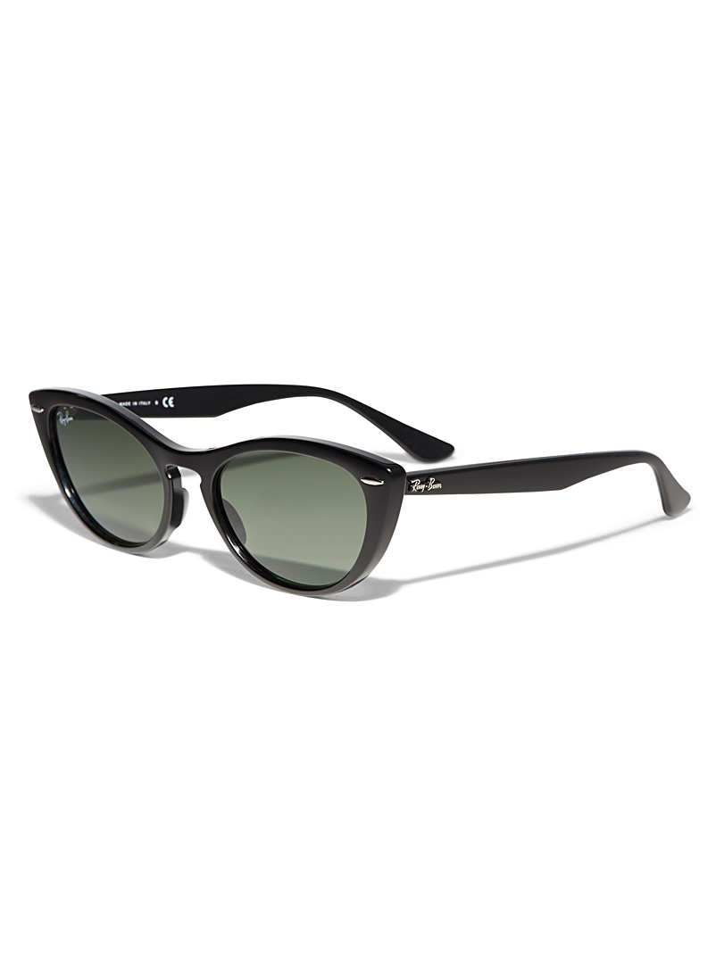 Nina cat-eye sunglasses - Designer - Black