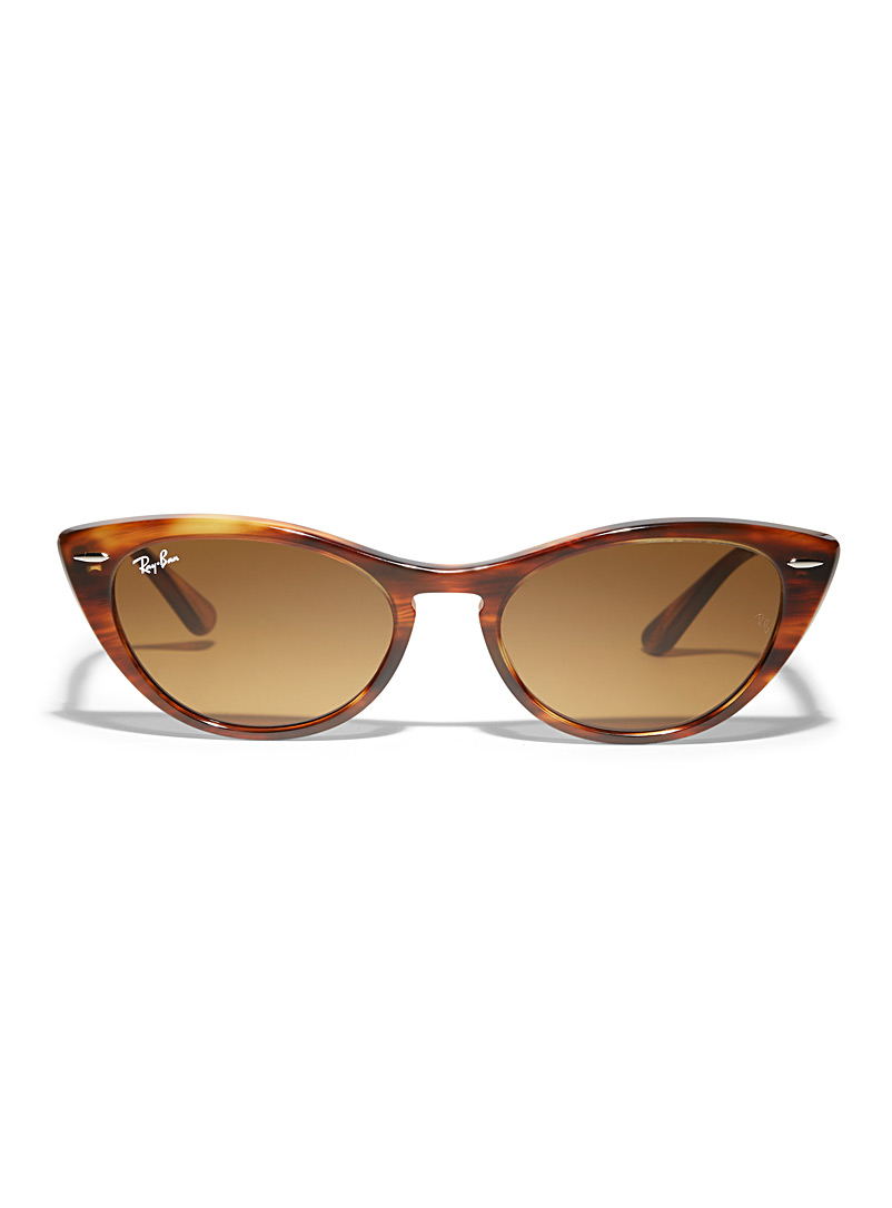 Nina cat-eye sunglasses - Designer - Light Brown