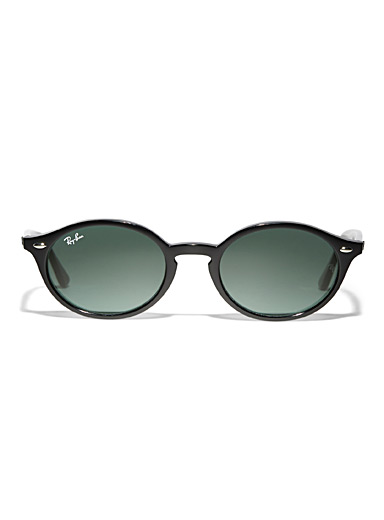 Minimalist oval sunglasses