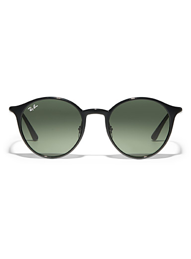 Chromance round sunglasses