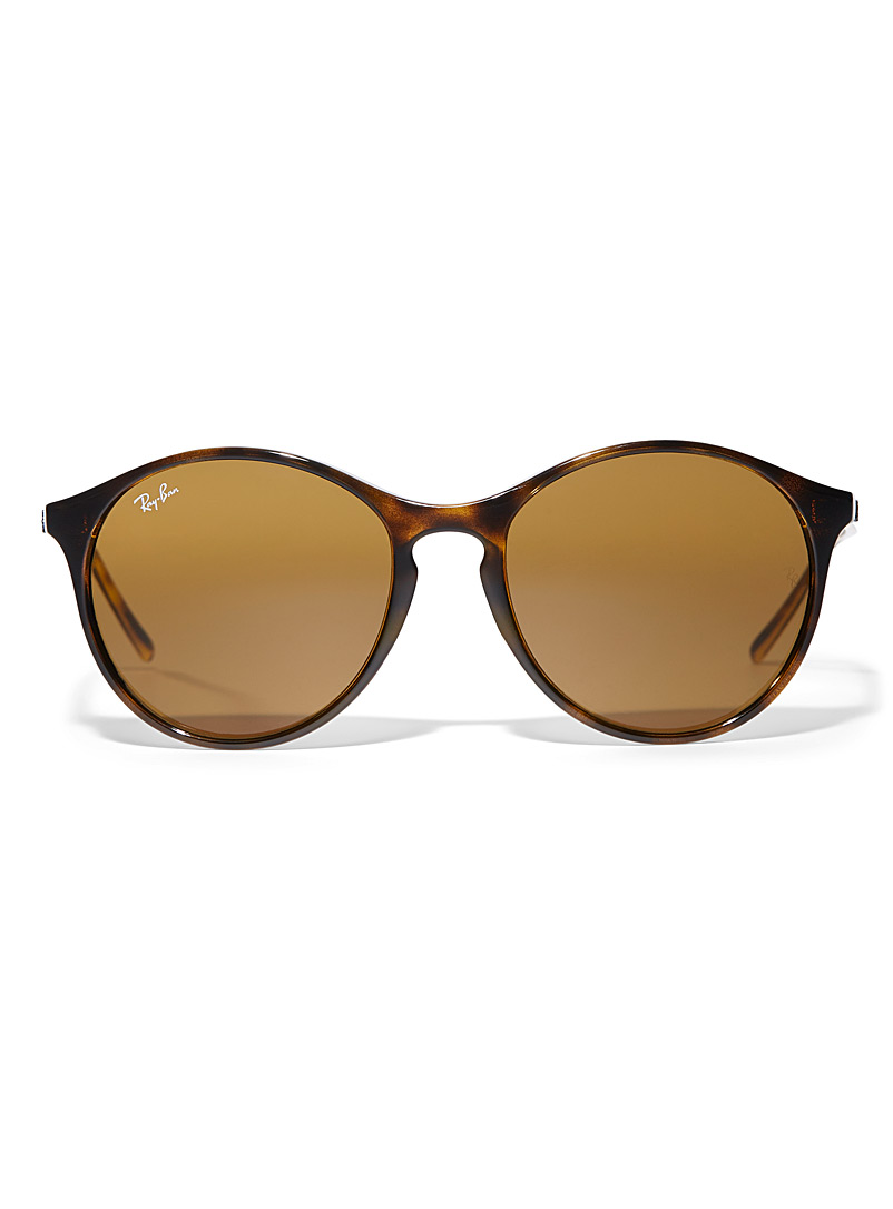 Ray-Ban Assorted brown Round tortoiseshell sunglasses for women