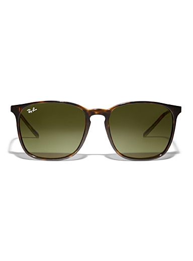 Ray-Ban Light Brown Slim square sunglasses for women