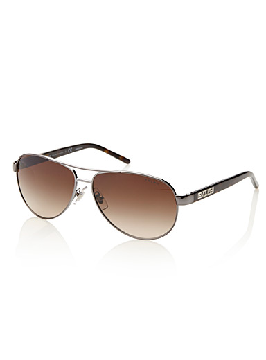 Shaded aviator sunglasses