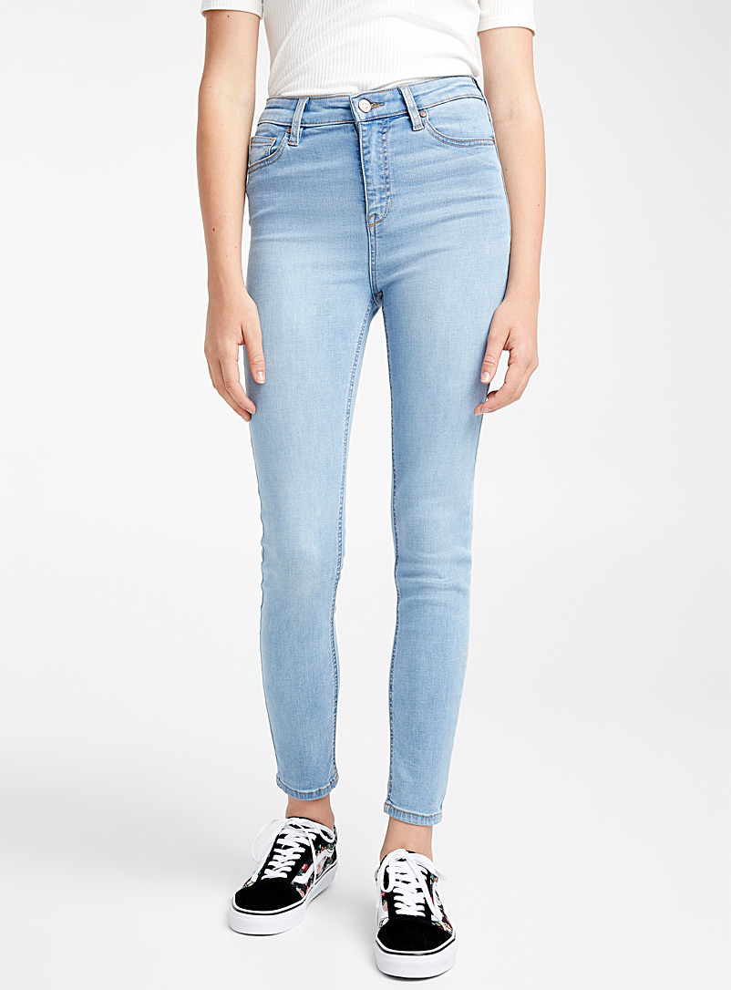 Twik Light blue High-rise skinny jean for women