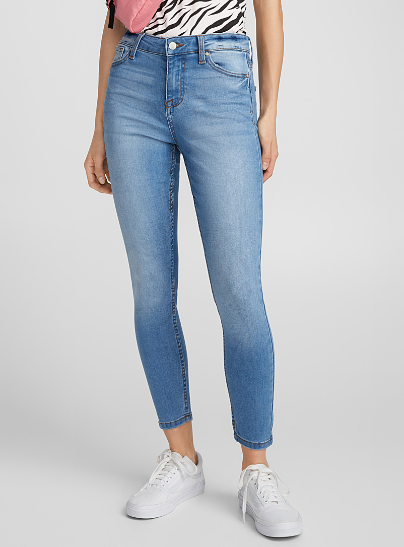 High-rise skinny jean - High Rise - Lilacs