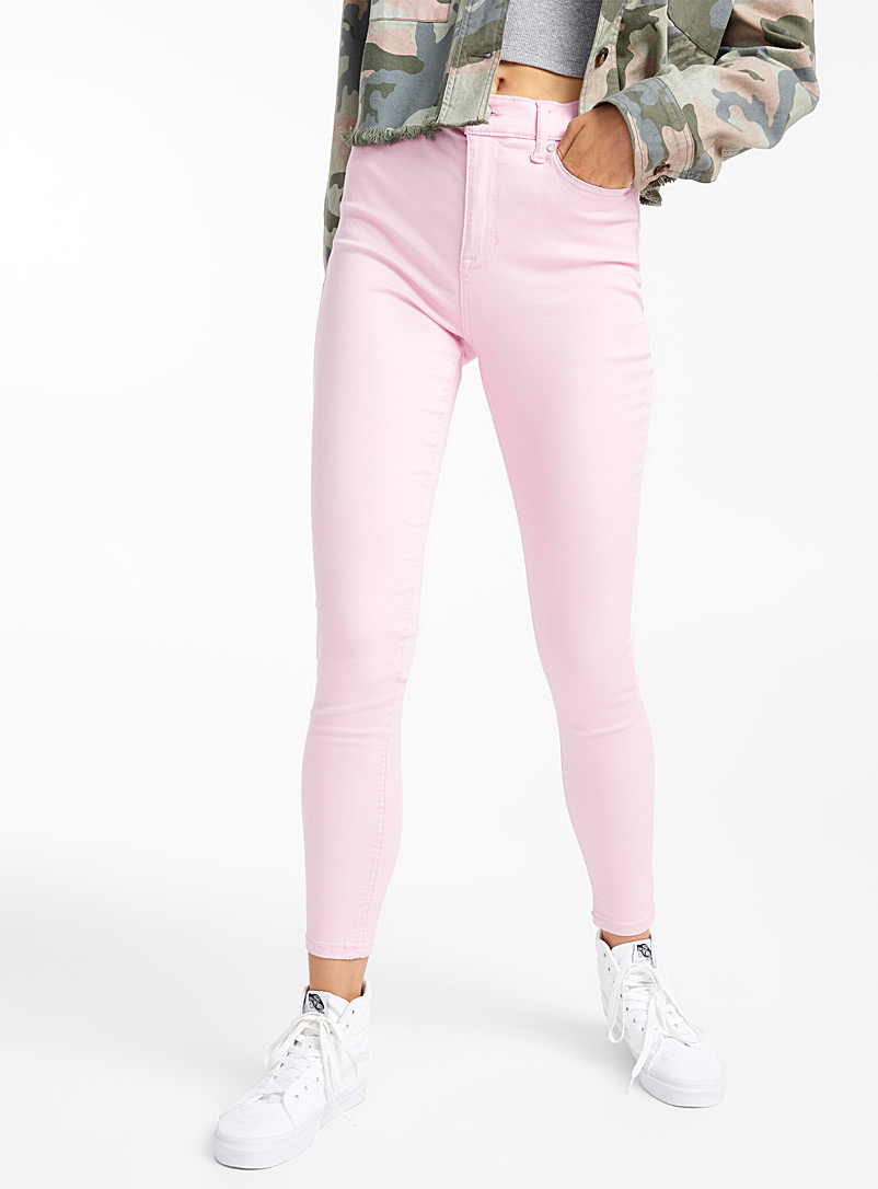 High-rise coloured skinny jean - Skinny