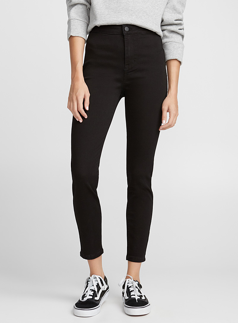 Black high-rise skinny - Skinny - Black