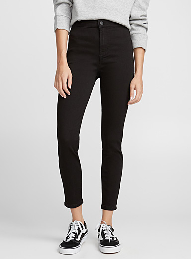Ankle high-rise skinny