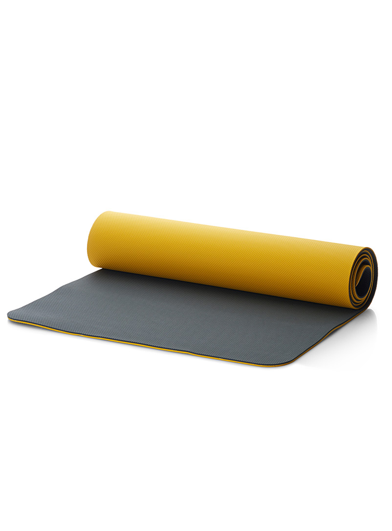 Lol? Golden Yellow I Glow yoga mat for women