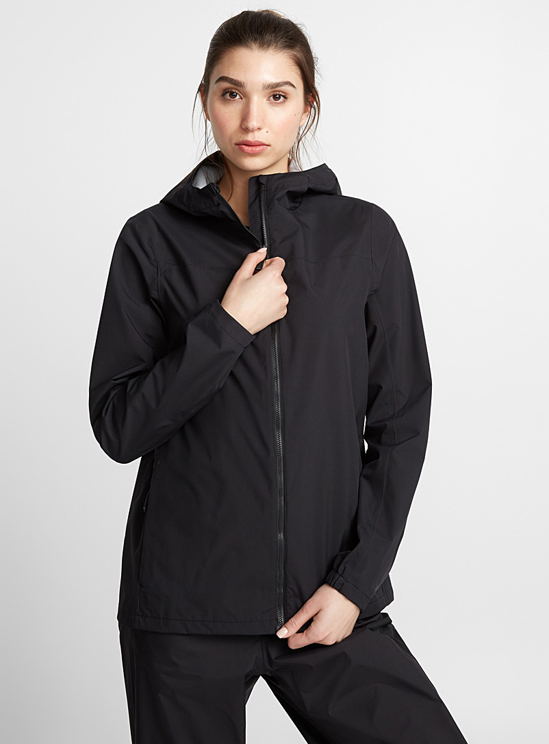Lainey breathable raincoat - Raincoats - Black