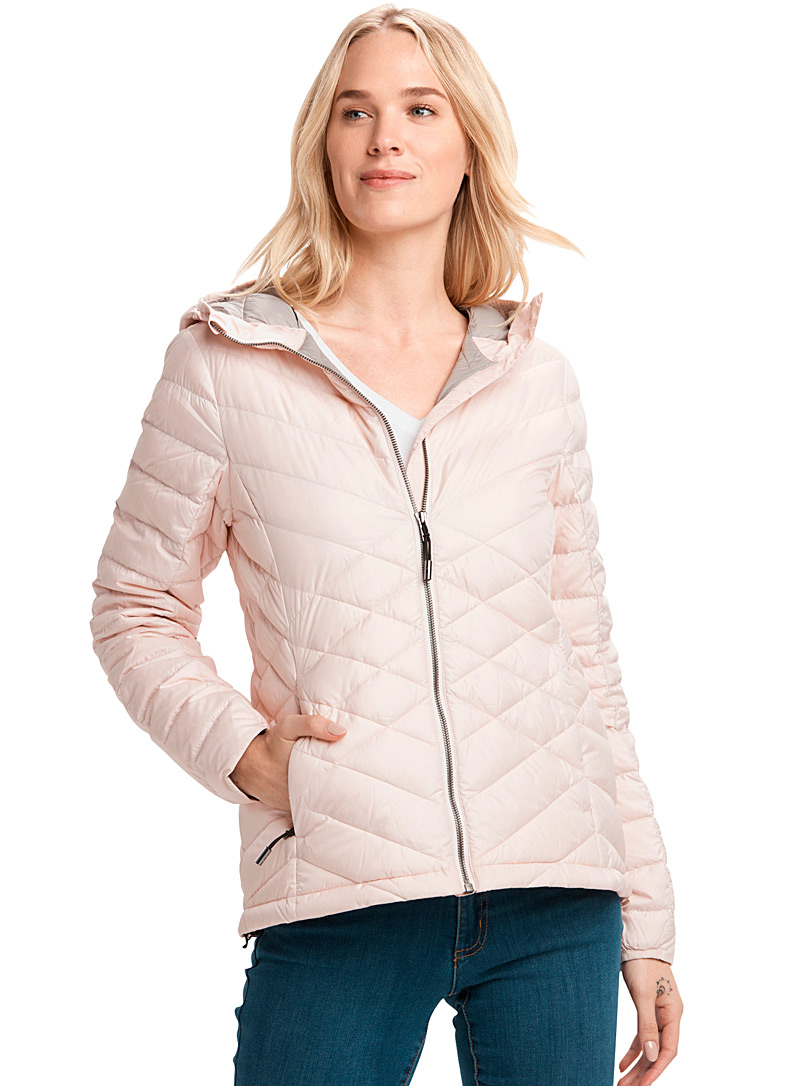 Lolë Pink Emeline quilted jacket for women
