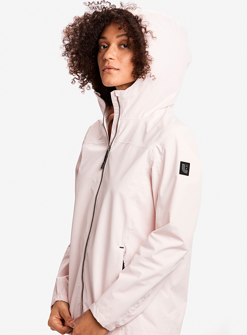 Lol? Pink Lainey breathable raincoat for women
