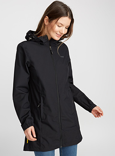 Fitted windbreaker raincoat