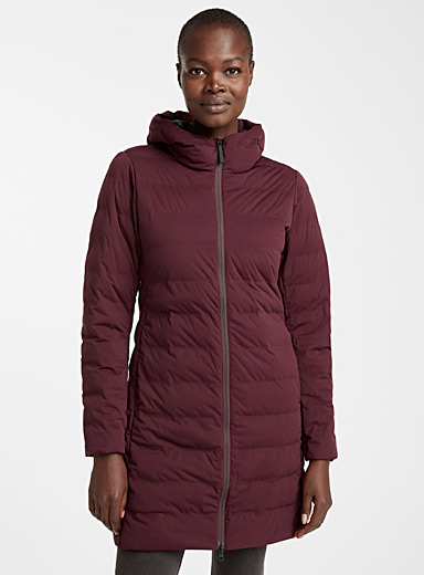 Hudson packable puffer jacket