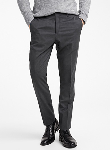 Stretch wool pant  Stockholm fit - Slim