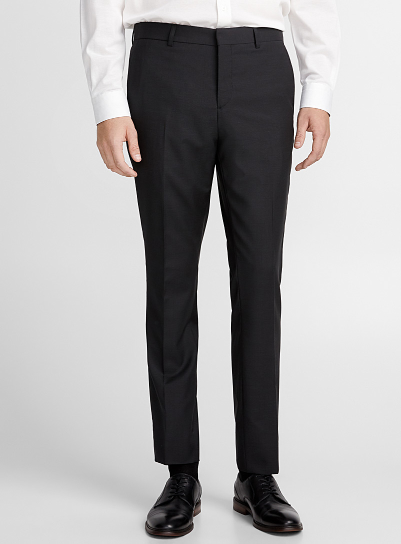 Glazed end-on-end pant  Stockholm fit - Slim - Suit Separates - Oxford