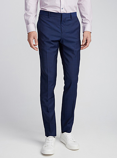Glazed end-on-end pant <br>Stockholm fit - Slim