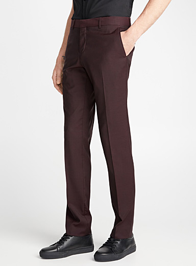 Glazed end-on-end pant  Stockholm fit - Skinny