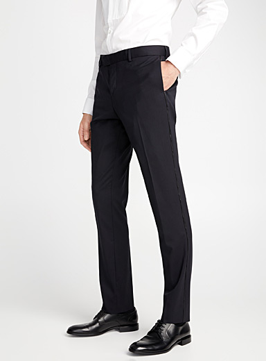 Le pantalon smoking Marzotto <br>Coupe Stockholm - Ajustée