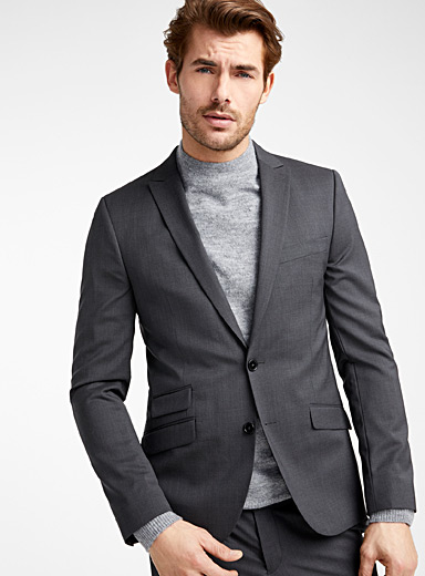 Italian Marzotto wool jacket  Stockholm fit - Slim