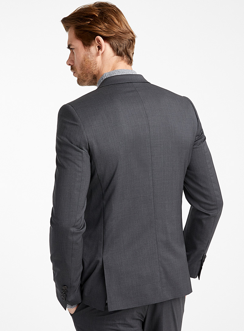 Italian Marzotto wool jacket  Stockholm fit - Slim   - Suit Separates - Oxford