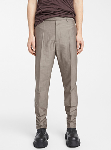 Rick Owens Light Grey Astaires Dust pant for men