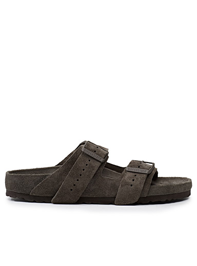 Rick Owens x Arizona Exquisite suede sandals  Men