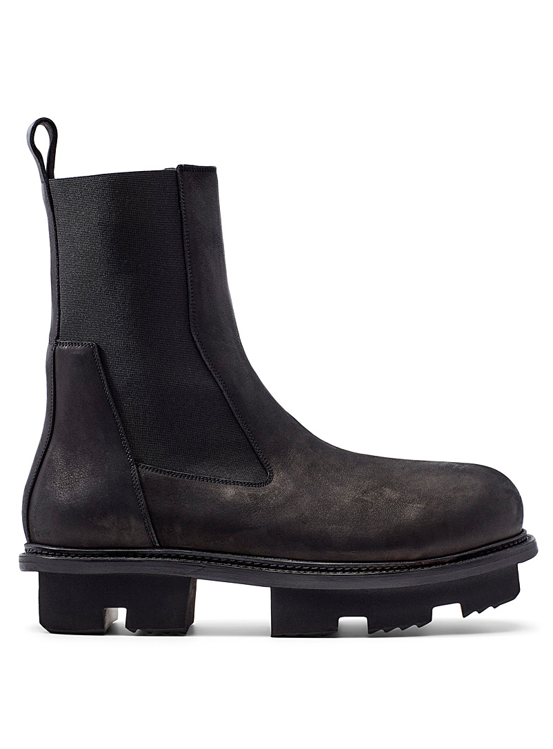 Rick Owens Black Performa Bozo Megatooth boots  Men for men
