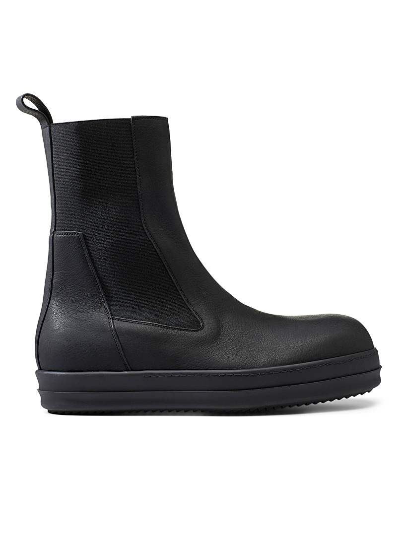 Rick Owens Black Bozo Sneaks boots for men
