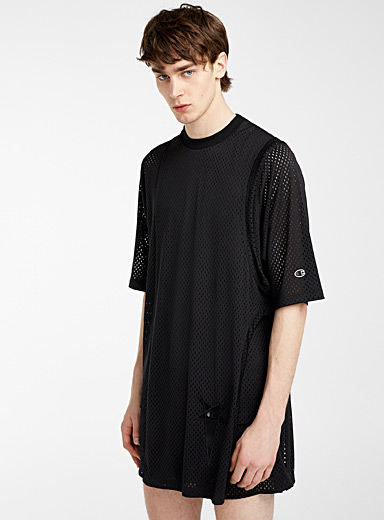Rick Owens Black Toga T-shirt for men