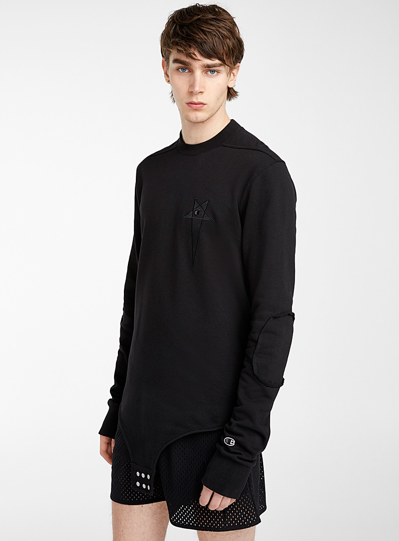 Rick Owens Black Owens X Champion bodysuit for men