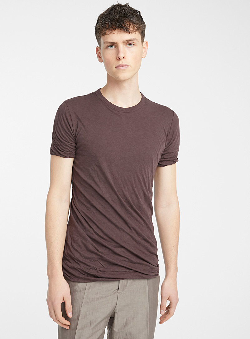 Rick Owens Red Double T-shirt for men