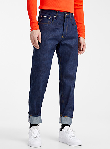 Kasuri selvedge jean  Straight fit