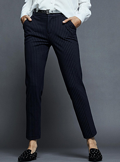 Chic patterned dress pant