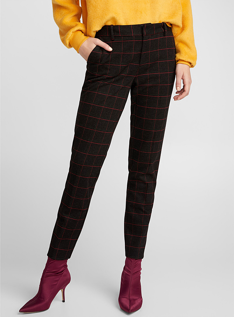 chic-patterned-dress-pant