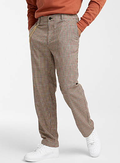 English plaid pant  Straight fit