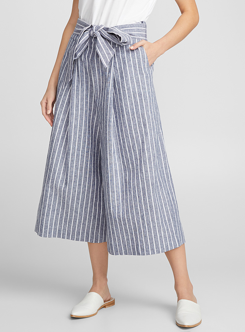pure-linen-belted-culottes