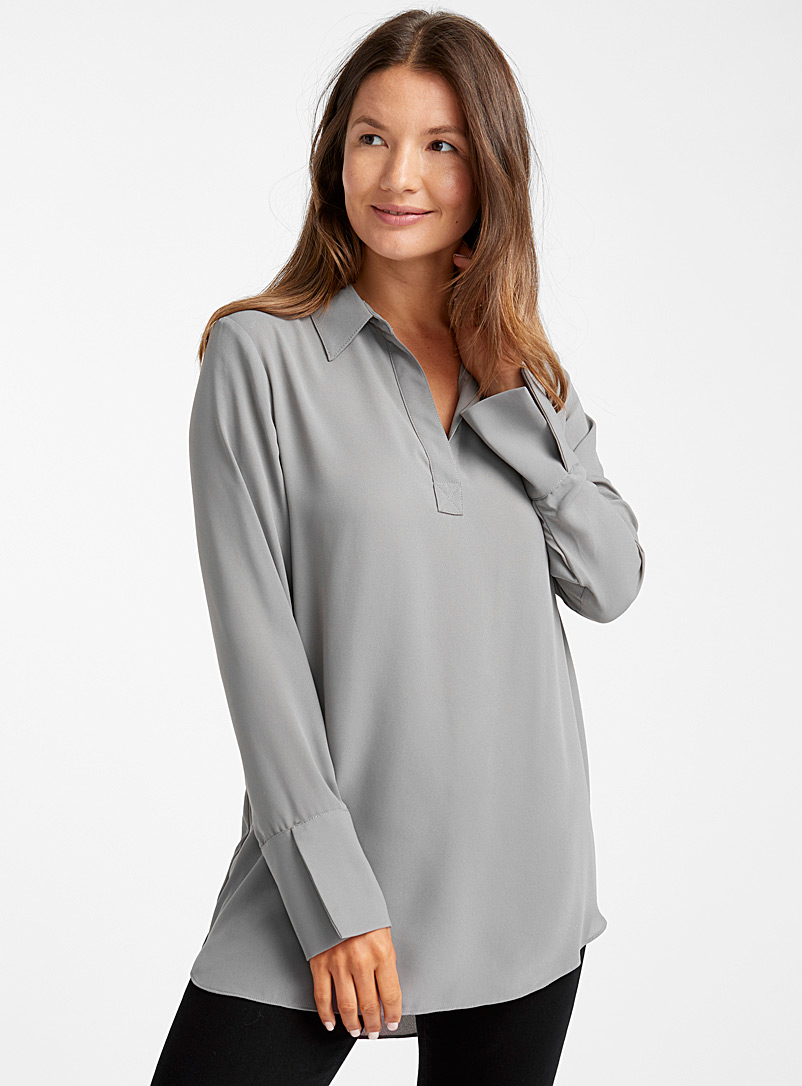 recycled-crepe-johnny-collar-tunic