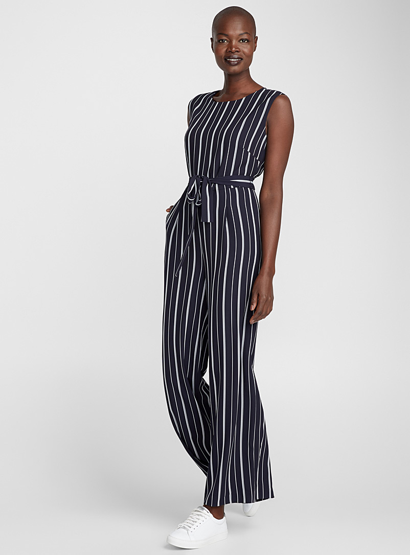 striped-belted-jumpsuit