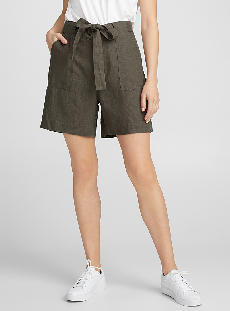 le-short-taille-nouee-pur-lin